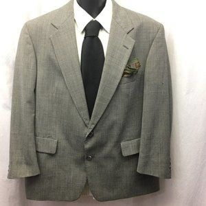 GANT Sport Coat Pure Wool Houndstooth 2 Button